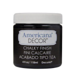 Americana Decor Chalky Finish Paint Carbon Black